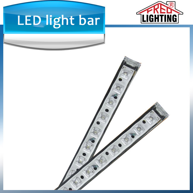 60leds/m waterproof IP68 aquarium LED rigid strip light ce rohs listed light bar for snowmobile