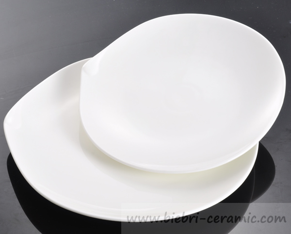 4 inch, 4.5 inch mini style elegant porcelain plates for hotel and restaurant