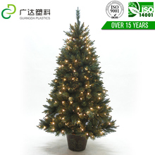 Best popular felt decoration artificial christmas tree led lights