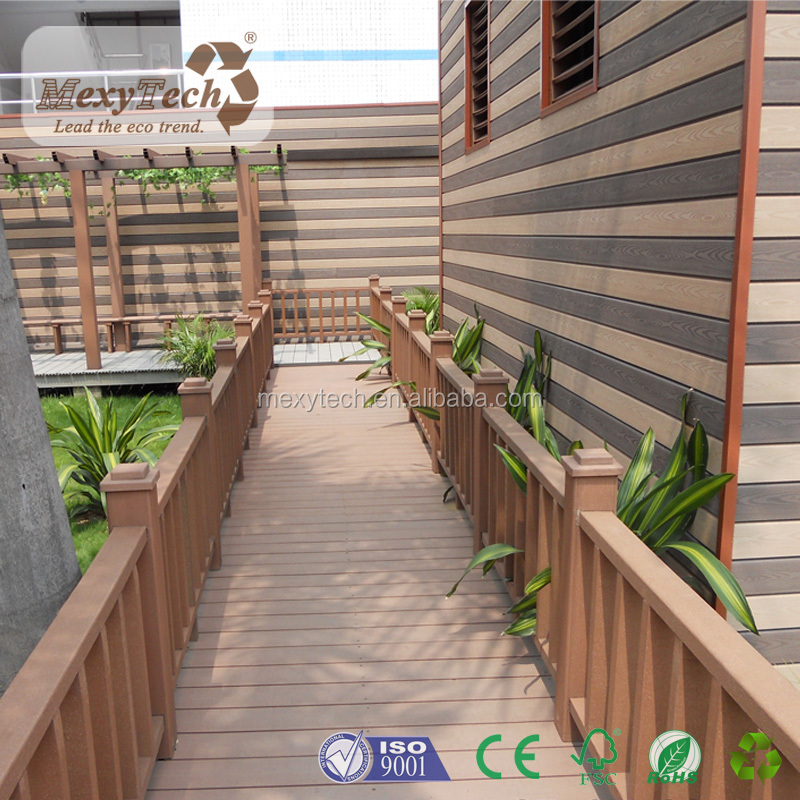 WPC board decking Composite Wood Factory made by Green Decking Materials
