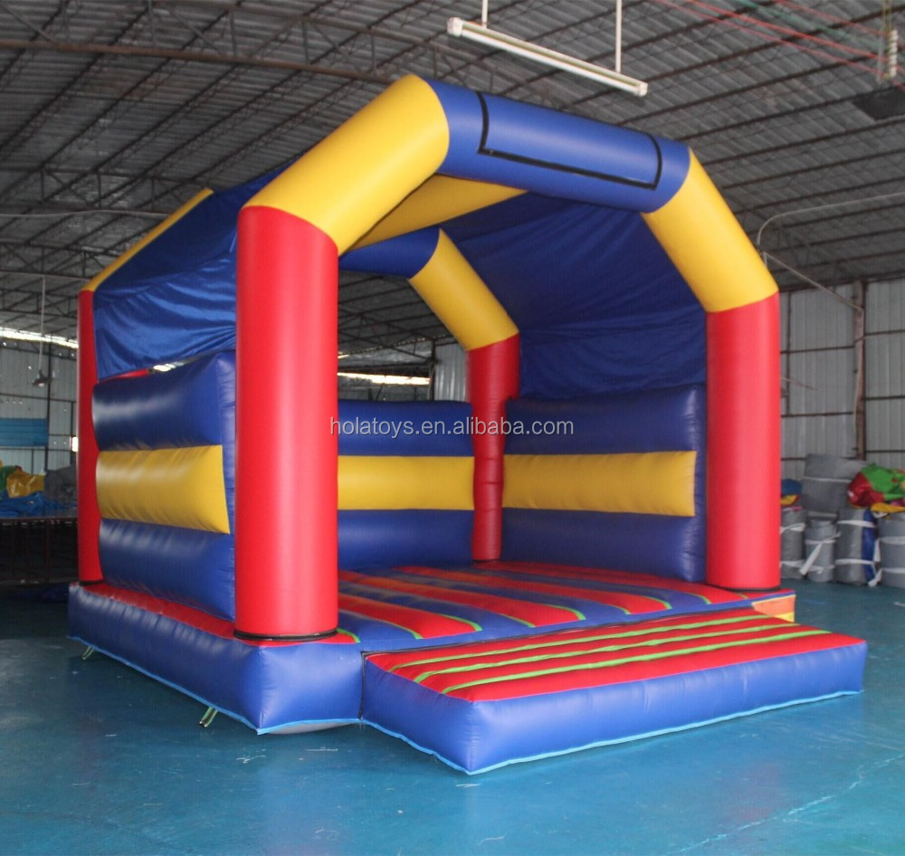 Hola inflatable bouncy castle/ adult bounce house for sale