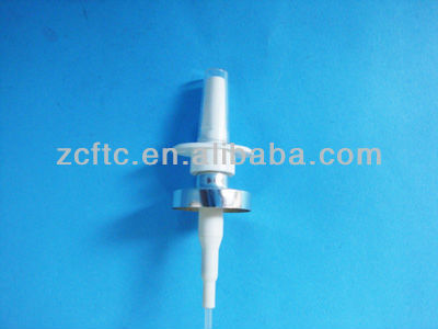18mm crimp on oral srapyer,throat spray,aluminum plated sprayer