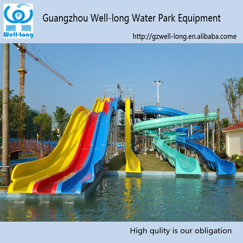 Professional big big water slides wholesale free fun online games for kids