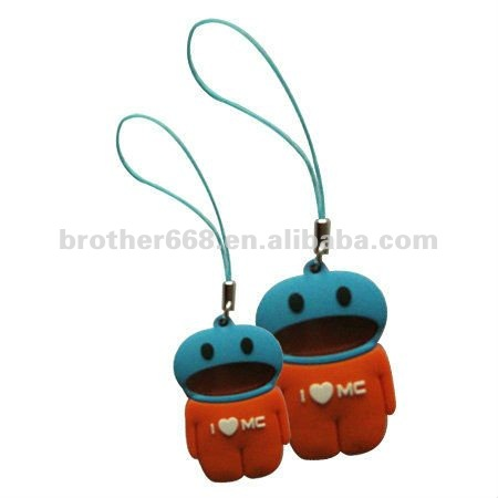cheap wholesale novelty mobile phone charm strap