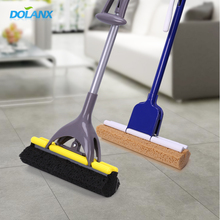 DOLANX Collapsible Cleaning Sponge Squeeze Mop,Smart Mop