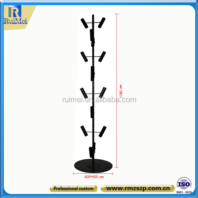 Metal Round Base Balloon Tree Stand Customized Balloon Display Stand