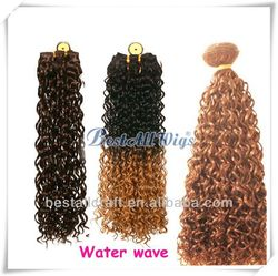 20 inch Light Color hair weft sealer