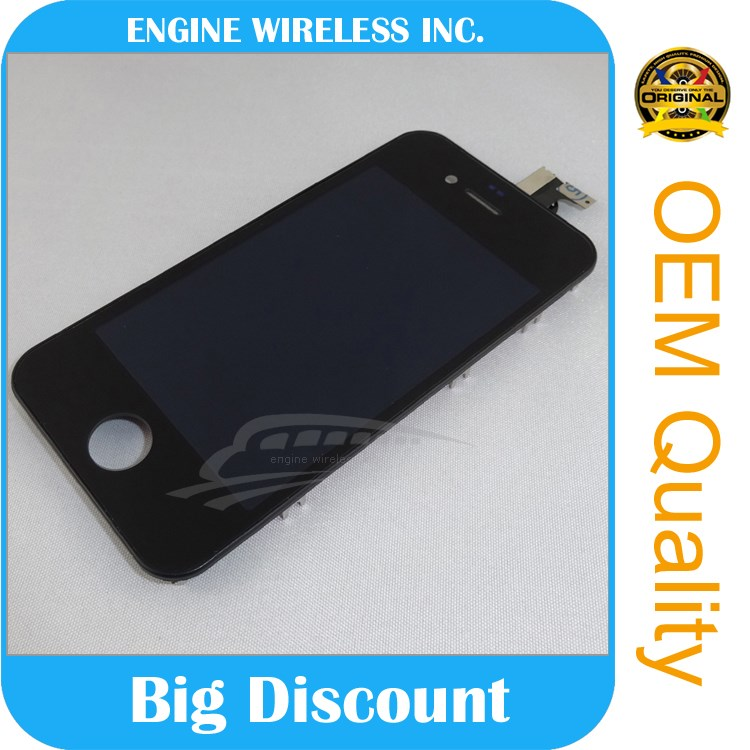 lcd for iphone 4,for iphone 4 s screen,for iphne 4 touch screen assembly