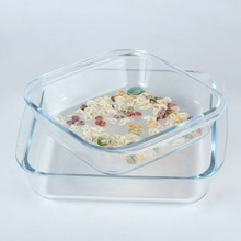 Cheap Square Shape Ovenware Microwavable Pyrex Glass Baking Dishes