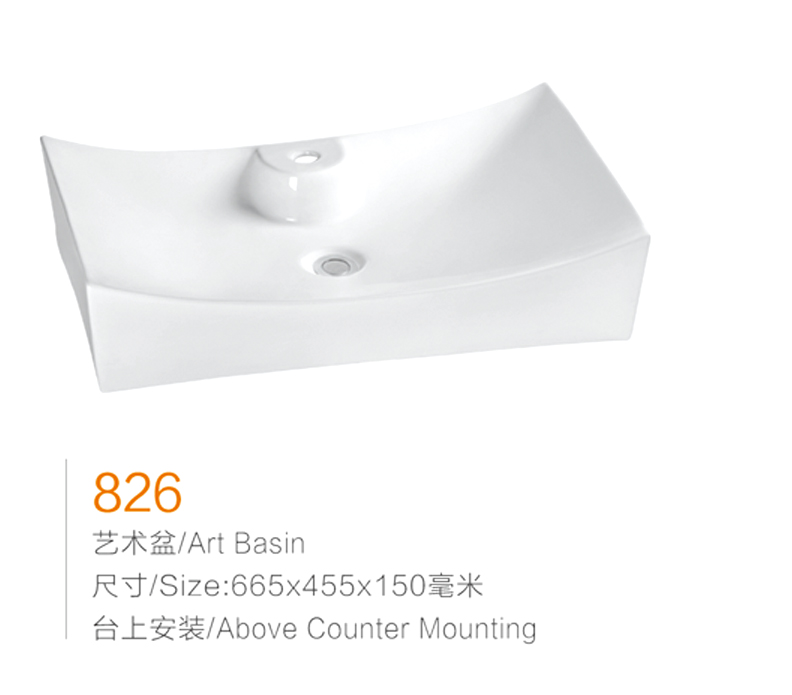manufacture high quality ceramic lavabo hand wash basin