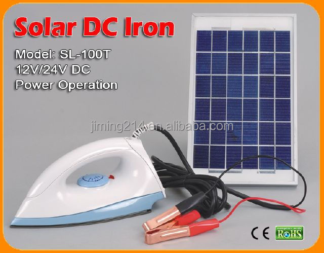 SL-100T SUNENGINE CE Approved Solar 12V Electric DC Iron -150W Temp. Adjustable China TOP 1 12V Electric DC Iron Manufacturer