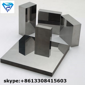 wear-resistant tungsten cemented carbide plates YG15 Square Tungsten Carbide Plates