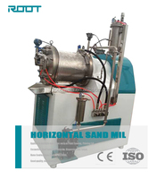 Nano Horizontal Sand Mill / Pigment Grinding Machine With Cooling System