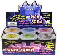 Hot educational toy mini pack magic play sand toy for kids