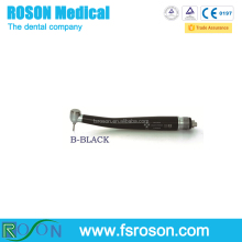 Cheap Push Button Single Spray Black Dental Highspeed Handpiece
