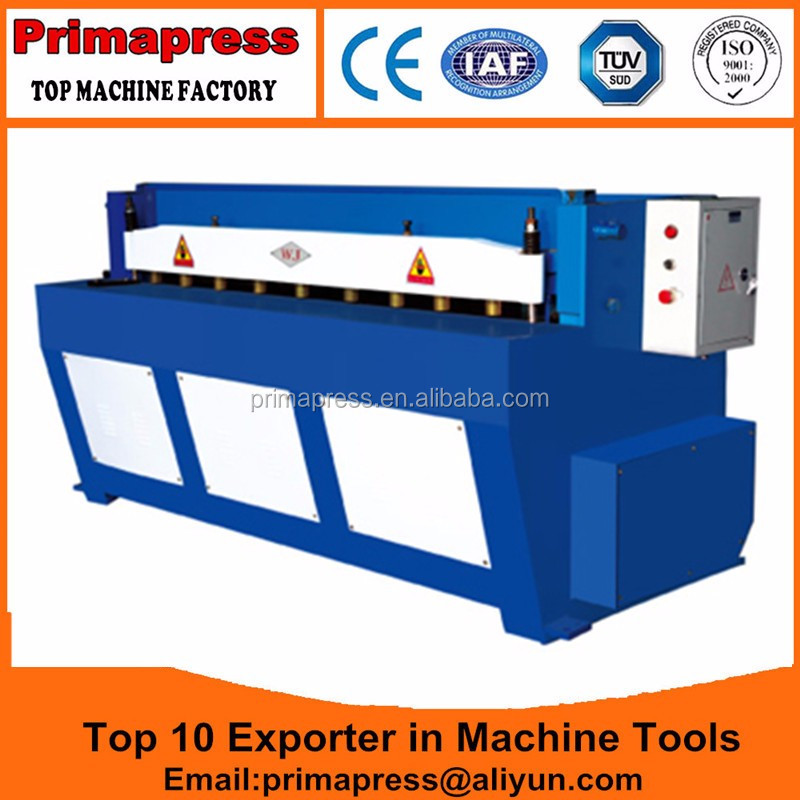 Cheap <strong>Q11</strong>-1.5*3000 small cutting machine Cheap Price electric shearing machine