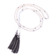 xl01696b Imitation Pearl Long Chains Tassel Pendant Fashion Necklace Jewelry