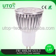 3W COB spot light 210lumen replace 25w the silk lamp led spotlight