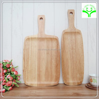 special for baking reliable quality pure nature material square timer wooden pizza tray