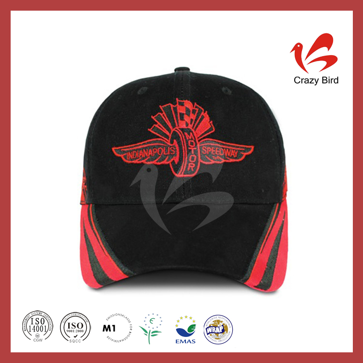 Sell Like Hot Cakes Selling Most Popular Hook and Loop Fastener Baseball Cap Motorcycle