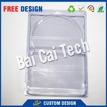 Cheap custom logo waterproof clear plastic blister tray, medical blister tray