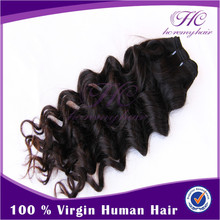 Cheap Pieces Curly Brazilian Hair Extensions Virgin Hair Weft Sealer