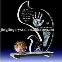 Crystal baby favor for new born baby with high quality in china