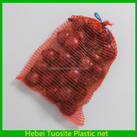 packaging fruit raschel mesh net bag for sale
