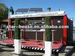 mobile restaurant(certified by CE, CSA, B.V.& AS)
