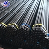 "welded manufacture 4"" tube erw steel pipe fire fighting pipes ASTM A53 SCH40 black steel round pipes"