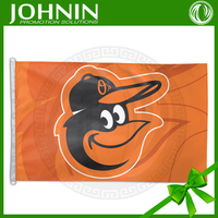 advertising promotional carnival events flying baltimore orioles flags