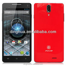 Hot Sale Pulid quad core MTK6589T 1G RAM +16G ROM 6.0 inch HD IPS screen 13MP camera China Phone Pulid F19