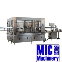 MIC12-12-5 high quality 3-in-1 juice making machine water production line 3000-4000bph with CE