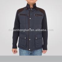 men's quilted jacket 2016 new design