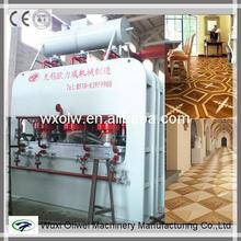 Automatic particle board hot press machine