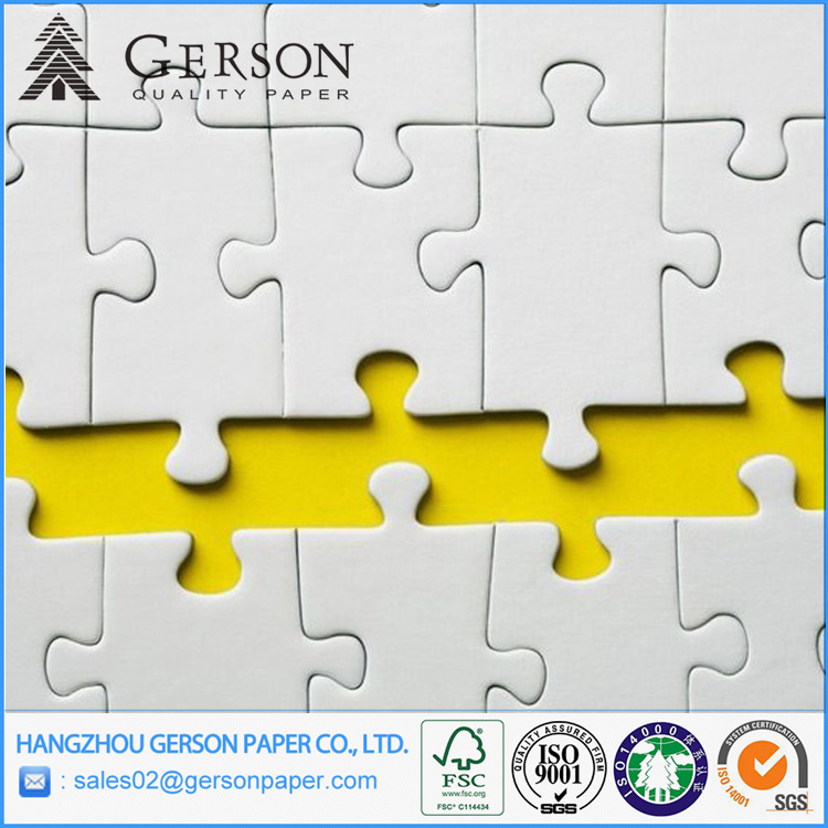 Laminated Grey Chip Board For Jigsaw Puzzle