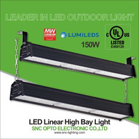 IP66 Warehouse Led Linear high bay light, industrial linear hihgbay light for High Rack lighting