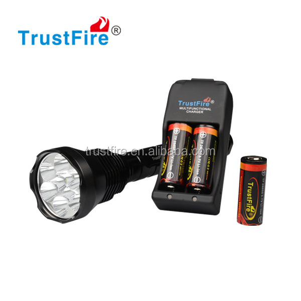 TrustFire popular flashlights 9T6 best brightness flashlight AK-47 torches 26650 lights <strong>1000</strong> lumens