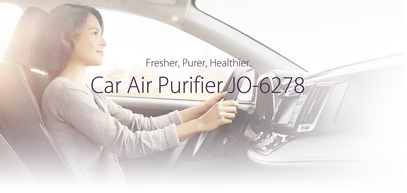 IONKINI 7th Generation Car Air Purifiers JO-6278