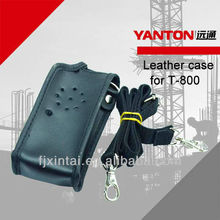 two way radio leather case for T-800