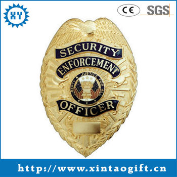 2013 Anqiue customized metal badges for souvenir