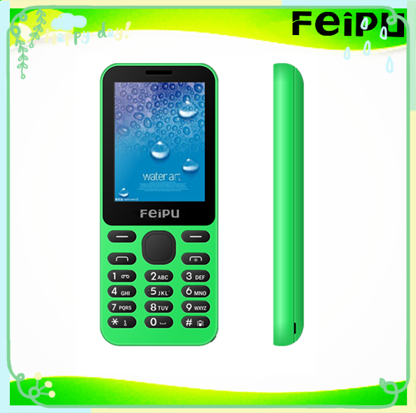 "2.4"" lcd screen small christmas gifts colorful GSM mobile phone with 1450mAh battery"