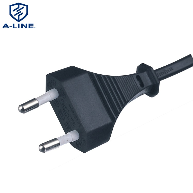 Korean 2 Pins Power Cord with IEC C7 Connector