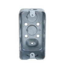 "Shanghai Linsky UL listed electrical handy box 4""x 2"" waterproof metal outlet box with conduit knockout ko's (sales5(@)linsky.cn"
