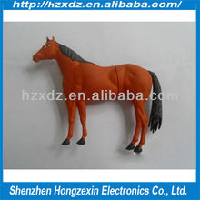 Horse Usb Flash Drives/animal 4GB usb flash stick 100% real capacity