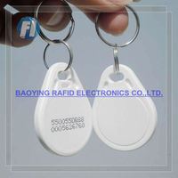 personalized key rings for access control