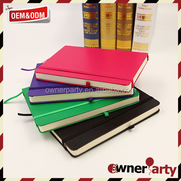 Fashion Design Wholesale PU Notepad Leather Note Book With Pen