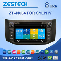 in dash car dvd player For Nissan SYLPHY touch screen 2 din auto car audio radio player WITH DVR OBD DTV