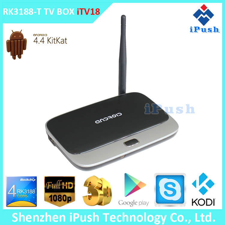 CS918 Android 4.2.2 quad core tv magic box full hd 1080p media player Skype Live Chat