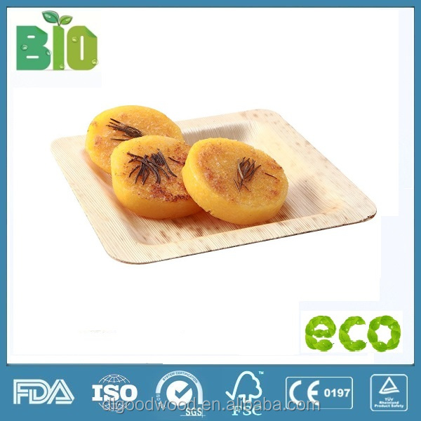 natural good quality compostbale bamboo fiber dishes